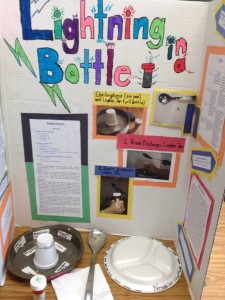 Lightning Bottle Science Project